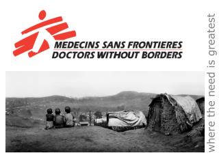 MSF is an independent humanitarian medical aid agency committed to two objectives:   1. providing medical aid wherever n