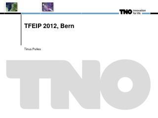 TFEIP 2012, Bern