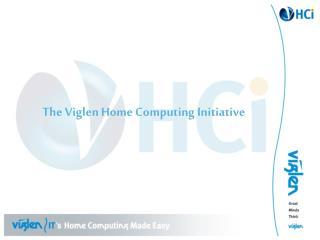 The Viglen Home Computing Initiative