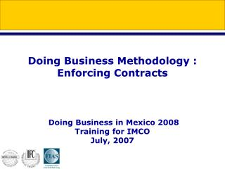 Why Enforcing Contracts Matters ?