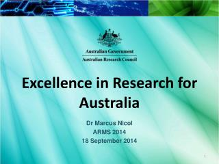 Excellence in Research for Australia