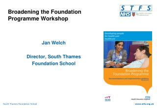 Broadening the Foundation Programme Workshop