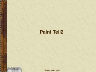 Paint Teil2