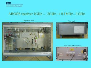 ARGOS receiver 1GHz … 2GHz  →  0.1MHz…1GHz