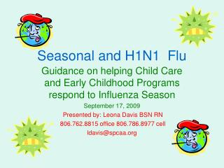 Seasonal and H1N1  Flu