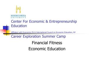 Financial Fitness Economic Education