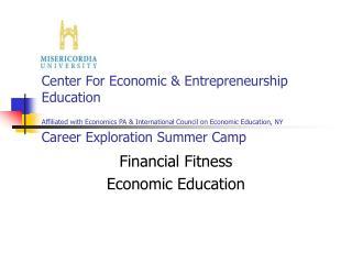 Financial Fitness Economic Education