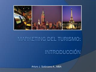 Marketing del Turismo: introducción