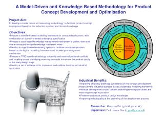 A Model-Driven and Knowledge-Based Methodology for Product Concept Development and Optimisation