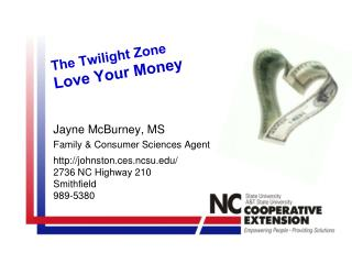 The Twilight Zone Love  Your Money