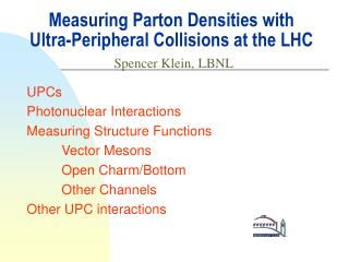 Measuring Parton Densities with Ultra-Peripheral Collisions at the LHC