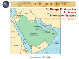e-Government in the GCC