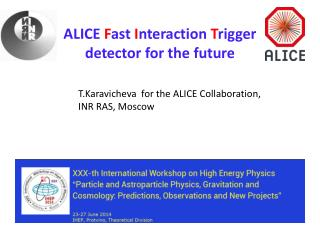ALICE  F ast  I nteraction  T rigger  detector for the future