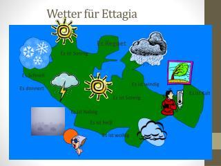 Wetter für Ettagia