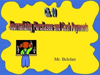 Mr. Belolan