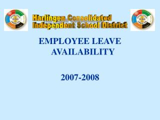 EMPLOYEE LEAVE AVAILABILITY 2007-2008