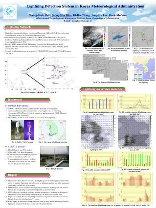 Lightning Detection System in Korea Meteorological Administration