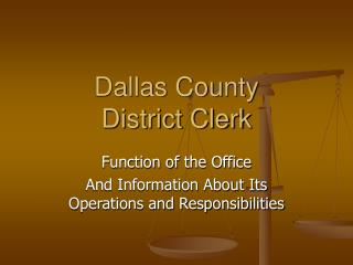 Dallas County District Clerk