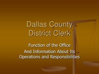 Dallas County District Clerk