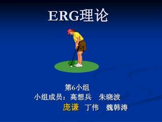 ERG 理论