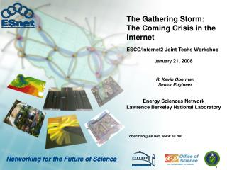 The Gathering Storm: The Coming Crisis in the Internet
