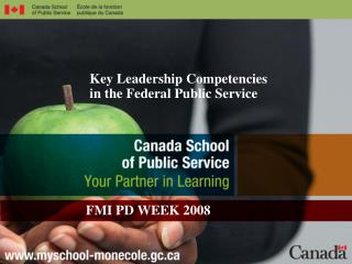 Key Leadership Competencies in the Federal Public Service
