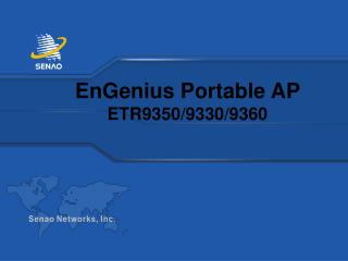 EnGenius Portable AP  ETR9350/9330/9360