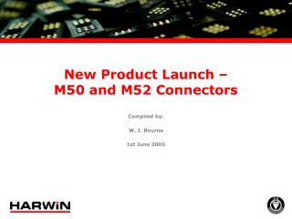 New Product Launch – M50 and M52 Connectors