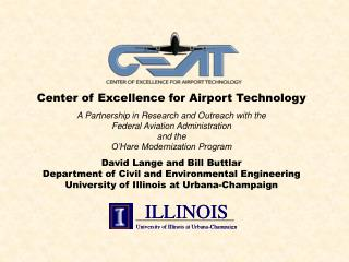 Center of Excellence for Airport Technology
