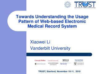 Towards Understanding the Usage Pattern of Web-based Electronic Medical Record System