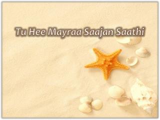 Tu Hee Mayraa Saajan Saathi
