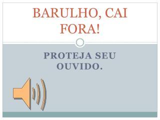 BARULHO, CAI FORA!