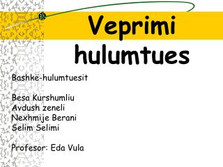 Veprimi hulumtues