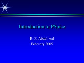 Introduction to PSpice