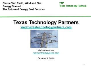 Texas Technology Partners texastechnologypartners Mark  Armentrout marmentrout@yahoo