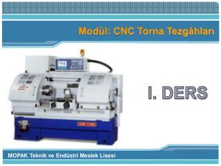 Modül: CNC Torna Tezgâhları