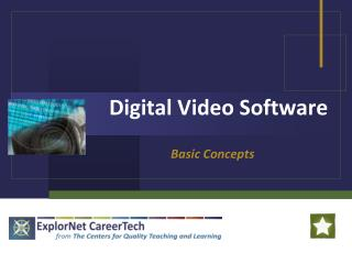 Digital Video Software