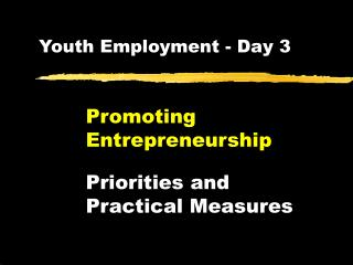 Youth Employment - Day 3