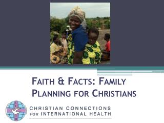 Faith & Facts: Family Planning for Christians