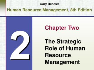 Gary Dessler Human Resource Management, 8th Edition