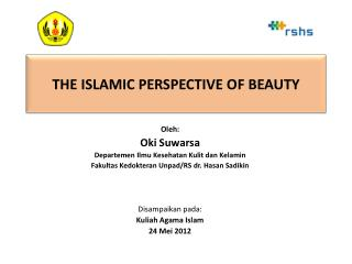 THE ISLAMIC PERSPECTIVE OF BEAUTY