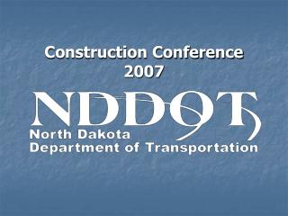 Construction Conference 2007