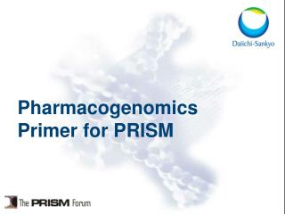 Pharmacogenomics Primer for PRISM