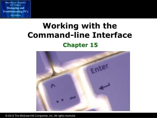 Working with the  Command-line Interface