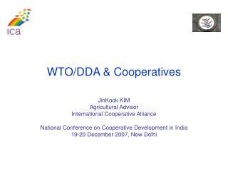 WTO/DDA & Cooperatives