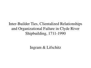 Ingram & Lifschitz