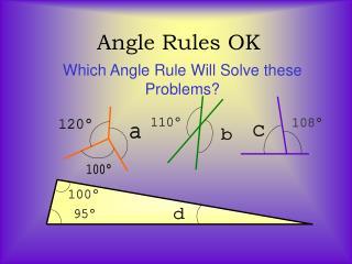 Angle Rules OK