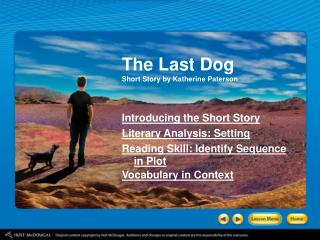 The Last Dog Short Story by Katherine Paterson