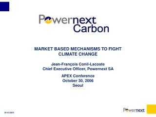 CLIMATE CHANGE IMPLIES A POLITICAL ANSWER
