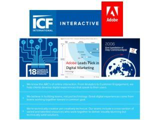 Adobe  Leads Pack in Digital Marketing